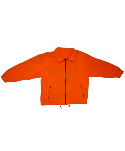 Chaqueta polar Pirineo naranja