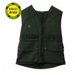 Chaleco de caza verde Somlys