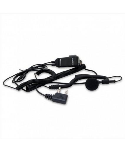Micro auricular para emisora