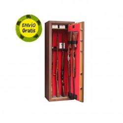 Armero  10 rifles con visor colo madera UNE 1143-1:2012 AENOR
