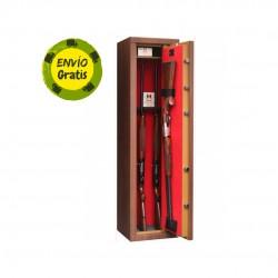 Armero  7 rifles con visor colo madera UNE 1143-1:2012 AENOR