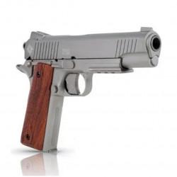 Pistola Crosman GI 1911 Blockback Silver