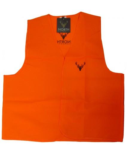 Chaleco de caza naranja North