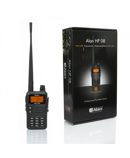 Walkie ALAN HP108 VHF especial Caza